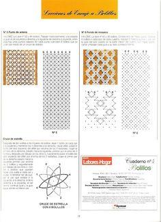 leçons de dentelle aux fuseaux (compilation de L.H espagnol) - Maggi Rivera - Webové albumy programu Picasa