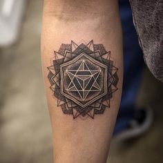 Genius Geometry Tattoo Ideas to Try This Year (128)