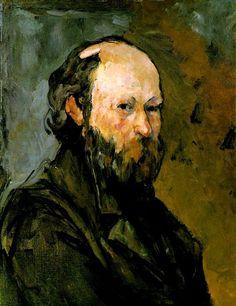 Paul Cezanne: Self-portrait, 1878-80. The Phillips Collection, Washington, D. C.
