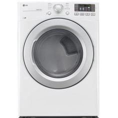 LG Electronics, 7.4 cu. ft. Gas Dryer in White, ENERGY STAR, DLG3171W at The Home Depot - Mobile - 745$