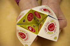 My kids love these fortune tellers. I just may need to design up some sweet custom ones like this.