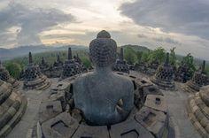 Temple de Borobudur en Indonésie - Johan Georget