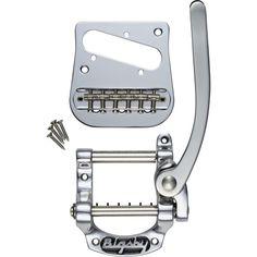 Bigsby B5 Telecaster Vibrato Kit for Flat-Top Solidbody Telecaster Guitars - Nickel