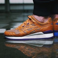 "Will you be copping the @asicstigerusa GEL-Lyte III ""Kimono Tan""?"