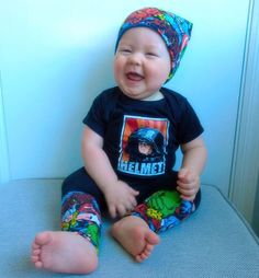 The sweetest sound in the world! He was so incredibly happy after his nap!   #OfficialRIPTster #RIPTapparel #RIPT #Tee #Tshirt #Style #GraphicTee #Outfit #OutfitOfTheDay #InstaFashion  Reposted Via @jennilynni