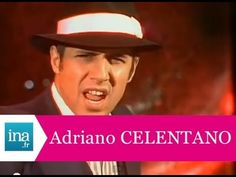 """Adriano Celentano """"Don't play that song"""" (live officiel) - Archive INA"""