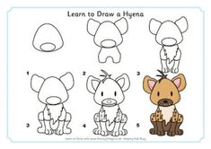 Learn to Draw a Hyena