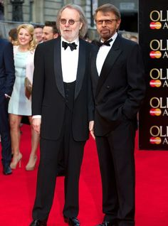ABBA's Benny Andersson And Bjorn Ulvaeus At the 2014 Olivier Awards At London's Royal Opera House On Sunday 13 April Mamma Mia, Photos, Pictures, Belle Photo, Opera House, Theatre, Most Beautiful, Awards, Sunday