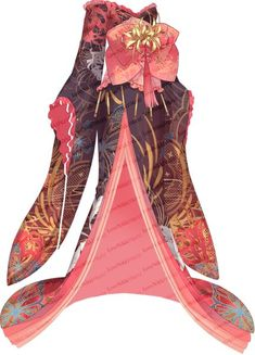 A database containing information from the Love Nikki wardrobe and more. Dress Drawing, Drawing Clothes, Fashion Design Drawings, Fashion Sketches, Anime Outfits, Mode Outfits, Anime Dress, Fairy Dress, Japanese Outfits
