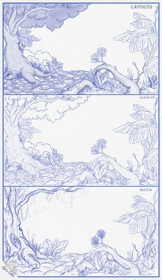 #drawing #illustration #art #sketch #pencil #characters #rat #mouse #mice #cartoon #characterdesigned #nature #professor #jungle Landscape Sketch, Landscape Art, Landscape Photography, Art Drawings Sketches, Pencil Drawings, Jungle Drawing, Rat Mouse, Bible School Crafts, Background Drawing