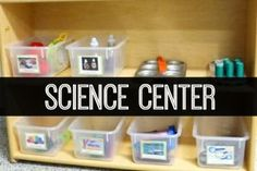 How to set up a science center in a pre-k, preschool, or kindergarten classroom. Science experiments, lessons, activities, printables and pictures.