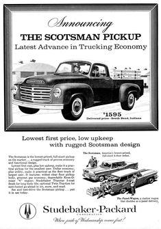 1958 Studebaker Truck Ad