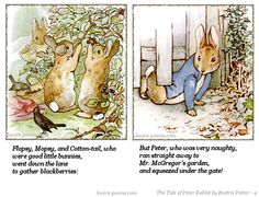 The Tale of Peter Rabbit by Beatrix Potter.... Aidan, Aaron, & Avery???