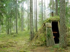 sylvan hut in Sweden