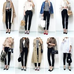 """I have clothes but no clothes to wear! """"How to arrange wardrobes"""" to be fashionable – Miracles from Nature Spring Outfits Japan, Japan Outfits, Fall Outfits, Casual Outfits, Fashion Outfits, Womens Fashion, Japan Spring Fashion, Japan Fashion Casual, Japan Ootd"""