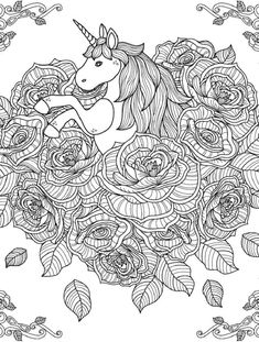 10 Best Coloring pages images | Coloring pages, Unicorn ...