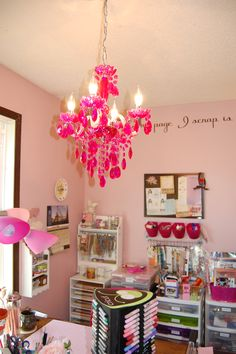 New chandelier - Scrapbook.com