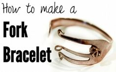 How to make a Fork Bracelet by Krista.S