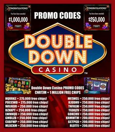 Double Down Casino Codes for FREE Chips. *Updated December Find new codes below for 1 million free chips! Play Wheel Of Fortune by IGT on your mobile device! Fun and real casino games like in a real Las Vegas casino. Double Down Codes, Double Down Casino Codes, Doubledown Promo Codes, Doubledown Casino Promo Codes, Doubledown Casino Free Slots, Free Chips Doubledown Casino, Ddc Codes, Lotto Winning Numbers, Heart Of Vegas