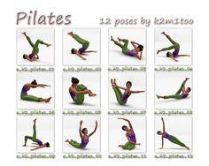 Afbeeldingsresultaat voor pilates oefeningen