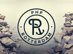 phprotterdam shot11 35 Anchor Based Logo Design Examples