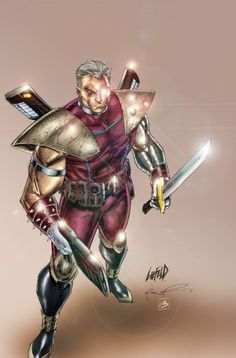 13_Weekly_Cable : Liefeld sketch color by ~Absalom7