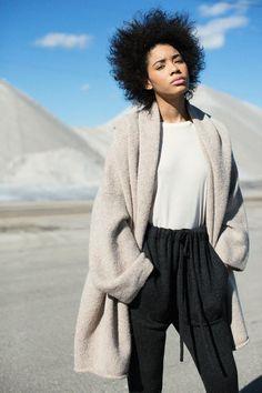 Lauren Manoogian - Ecru Capote Coat | BONA DRAG