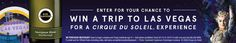 **TX and LA residents only!** Check out this The Kim Crawford/Cirque du Soleil Sweepstakes
