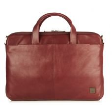 This Henderson leather slim briefcase is this is the closest bag I can find to my Latico laptop shoulder bag -- which I love and is it's last leg. So damn pricey. Laptop Shoulder Bag, Shoulder Strap, Knomo London, Carry On Luggage, Oxblood, Online Bags, Briefcase, Handbags