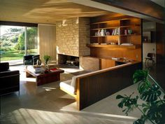 Singleton Residence. 1960 Bel Air, California. Richard Neutra