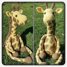 You guys might remember a giant crochet giraffe that I posted a pattern for last year. I loved that giraffe,…
