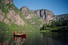 Canoeing in Northern Quebec