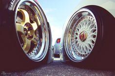 Work Wheels and BBS.