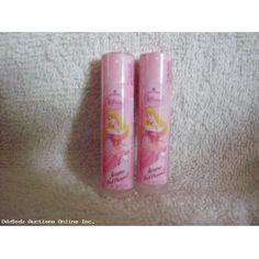 Avon Disney Lip Balm AURORA Diamond - NEW- Lot of 2 Raspberry
