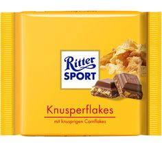 RITTER SPORT Knusperflakes Schokolade