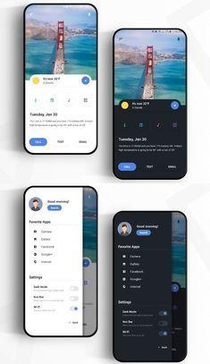 Android apps 851391504540118869 - Mobile Flat Design inspiration Source by Web And App Design, Ios App Design, Mobile Ui Design, Android App Design, Design Websites, User Interface Design, Dashboard Design, What Is Ui Design, Desing App