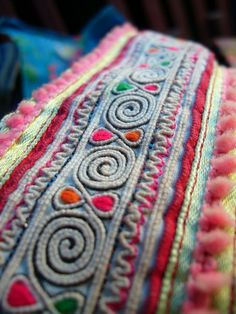 Hmong handmade textiles of Vietnam - Visit http://asiaexpatguides.com and make the most of your experience in Vietnam!