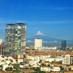 Buen día. #Puebla #Volcan #Popocatépetl -