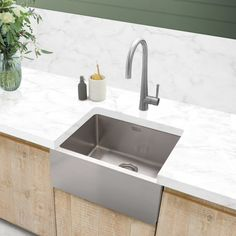 Stainless Steel Sinks available in the UK from Caple Sink Taps, Stainless Steel Sinks, Kitchen, Home Decor, Cooking, Homemade Home Decor, Stainless Steel Kitchen Sinks, Home Kitchens, Kitchens