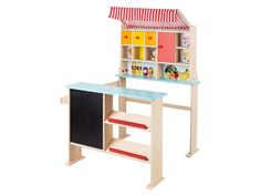 PLAYTIVE® Drewniany sklep dla dzieci   LIDL-SKLEP.PL Lidl, Shelves, Furniture, Home Decor, Chloe, Toy Store, Wood Toys, Drawers, Plywood
