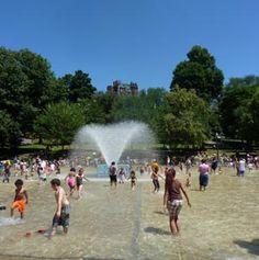 Frog Pond Spray Pool & Fountain, Boston Common Boston MA