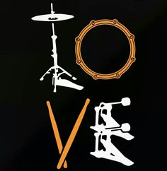 Drummer Tattoo, Musica Love, Drums Girl, Girl Drummer, Rock Poster, Drum Lessons, How To Play Drums, Music Images, T Art
