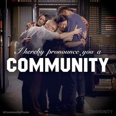 You've just stopped being a study group. You've now become something unstoppable #CommunityFinale