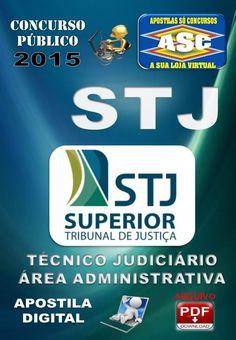 Apostila Concurso Stj Tecnico Judiciario Area Administrativa