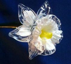 glass flowers with stems - Glass Flowers