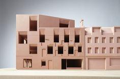 Billedresultat for duggan morris Brick Architecture, Concept Architecture, School Architecture, Contemporary Architecture, Architecture Models, Building Skin, Base Building, Duggan Morris, 3d Modelle