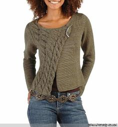 Knitting sweaters for women crochet cardigan Super Ideas Cardigan Pattern, Crochet Cardigan, Knit Cowl, Pull Crochet, Knit Crochet, Chunky Crochet, Crochet Woman, Knit Fashion, Fashion Check