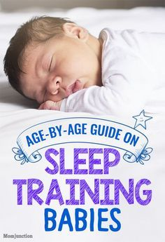 Sleep Training For Babies: Age-By-Age Guide For #New #Parents : Here's an age-by-age guide that can help you understand the right time to introduce your baby to sleep training-