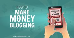 Want to know how to make money blogging? You can do this if you follow the right plan. Check out my blogging resources to help you move up and earn more.