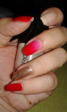 Red nail..